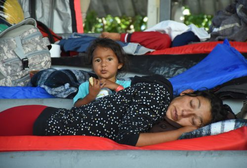 The desperation of Central American asylum-seekers place them in a world beyond politics