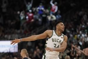 Bucks first to clinch playoff spot - after just 56 games