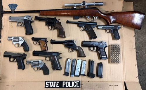 Police: Mass. man illegally owned 12 guns, 3,000 ammunition rounds