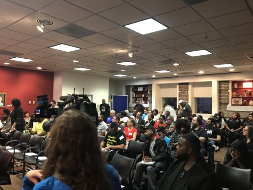 Forum on whether to arm Baltimore City school-based police shows sharp divide