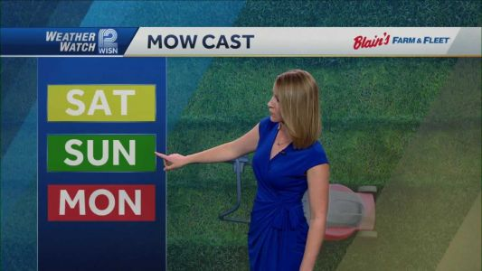 Videocast: Weekend heat and storm chances