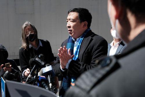 Yang says he's a 'champion' of reproductive rights amid criticism over past abortion comments