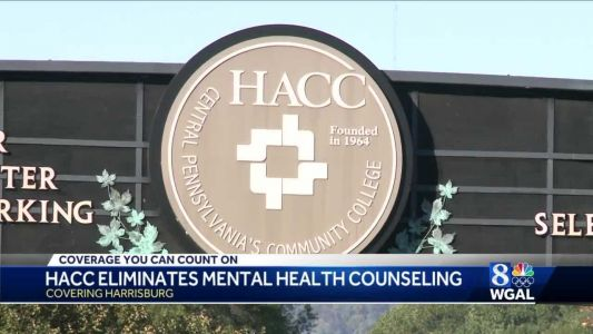 HACC will eliminate mental health counseling services for students