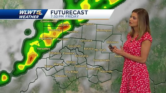 Timeline of Friday's storms