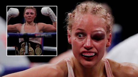 'A great advert for women's boxing': Agony for Ebanie as 'Blonde Bomber' Bridges suffers bruising first loss to Shannon Courtenay
