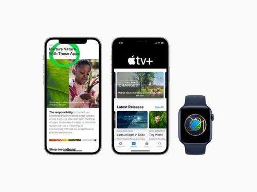 Apple celebrates Earth Day across Apple TV, Podcasts, Apple Watch, more