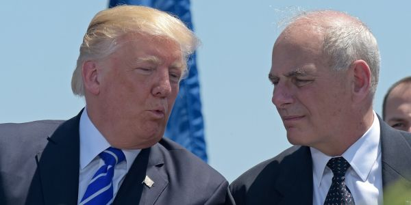 John Kelly reportedly described Department of Homeland Security as a 'mess'