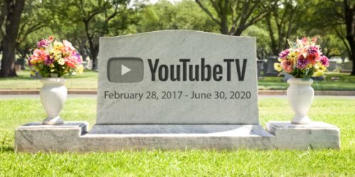 ProBeat: RIP YouTube TV, you'll make a great case study
