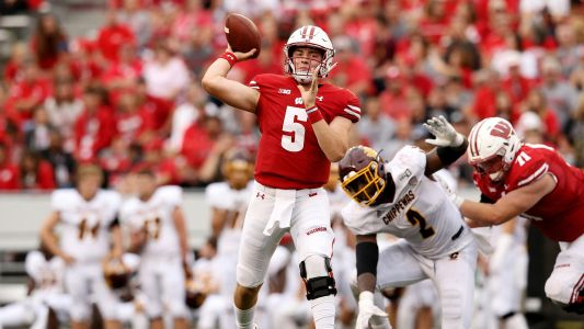 How Graham Mertz's positive COVID-19 tests impact Wisconsin football schedule, Big Ten season