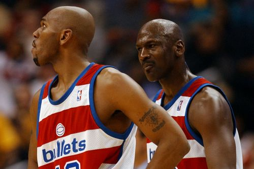 Jerry Stackhouse's Wizards stint soured him on Michael Jordan