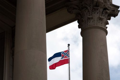 Mississippi drops Confederate-themed flag with new bill