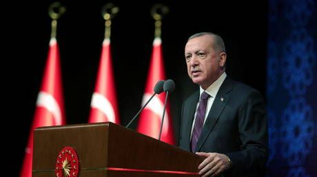 Erdogan outlines legal reforms, vows to improve freedom of expression in Turkey ahead of EU membership push