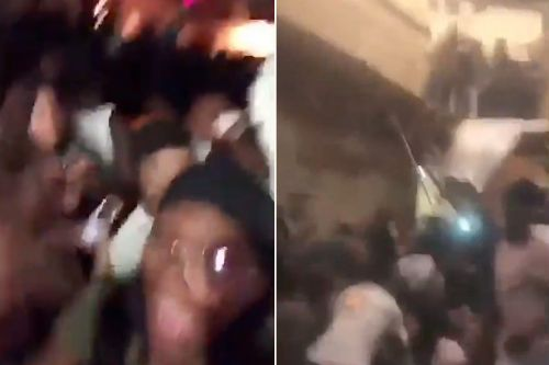 Dozens injured after floor collapses at house party near Clemson