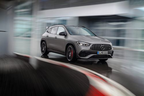 Mercedes-Benz stuffed its smallest SUV with the most powerful engine of its kind