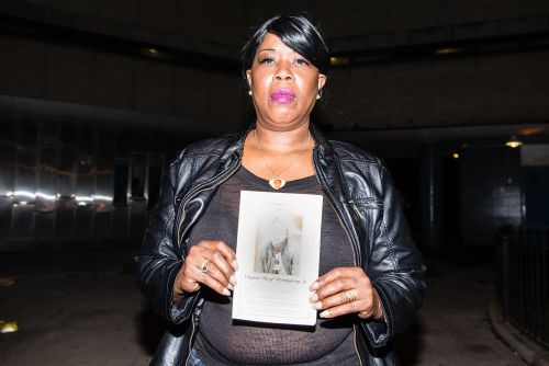 Grieving mom sues city, blames NYCHA for son's murder