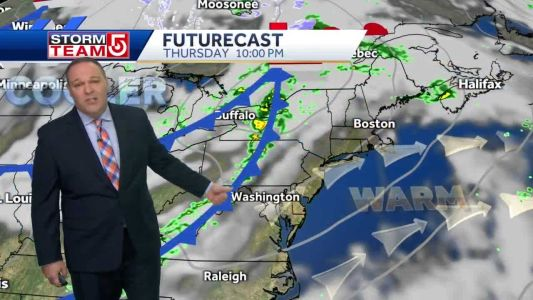 Video: Sunshine, mild air coming to an end