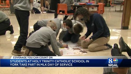 Students in York take part in MLK Day of Service