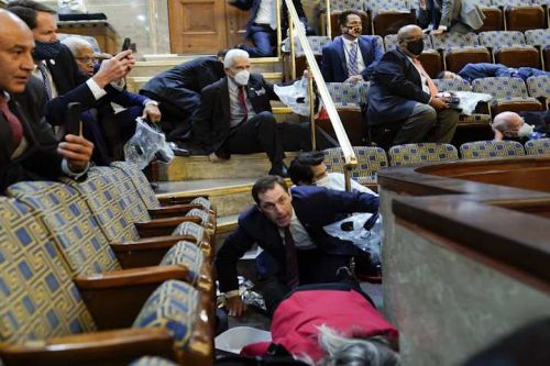 Three House Democrats blame COVID-19 diagnosis on lawmakers who didn't wear masks while sheltering