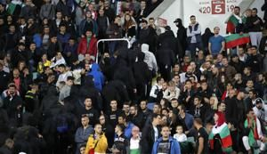 Bulgaria arrests 6 soccer fans following racist acts