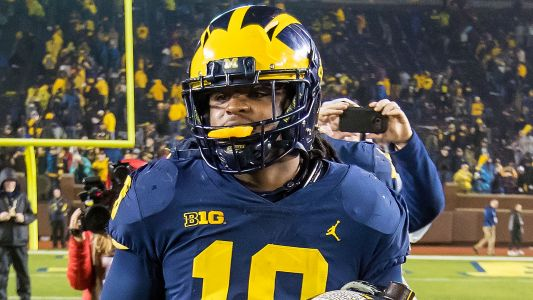 Why Michigan's Devin Bush damaged the Michigan State logo at midfield