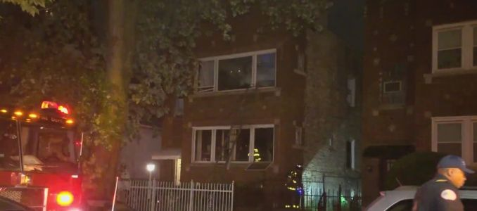 Woman dies, man injured in fire on West Side