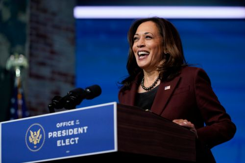 Vice President-elect Harris to resign her Senate seat Monday