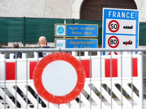 Photos show the emergency makeshift borders European countries have erected in an attempt to stop the spread of COVID-19