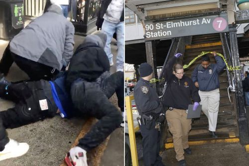 MS-13 members busted for Queens subway shooting held without bail