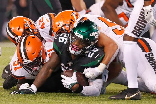 Jets manhandled in 'Monday Night Football' loss to Browns