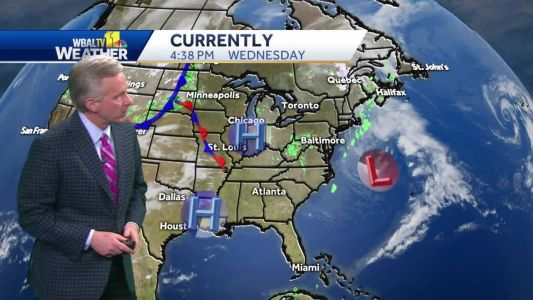 Will partly cloudy skies clear up Thursday?