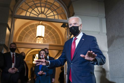 Infrastructure vote 'ain't going to happen' until agreement on larger plan, Biden says