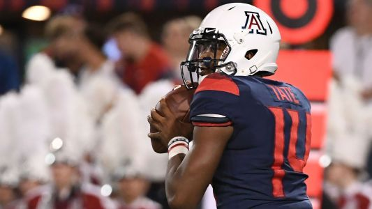 Arizona QB Khalil Tate dealing with ankle injury; Rhett Rodriguez to start against UCLA