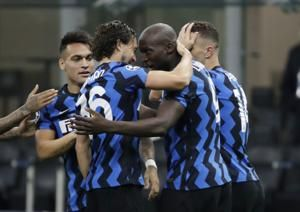 Coronavirus-affected Inter held 2-2 by Gladbach