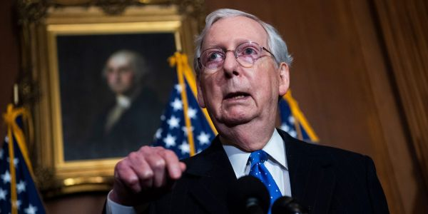 'They were provoked by the president': Mitch McConnell blames Trump for deadly Capitol riots