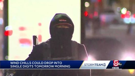 Boston issues warning about falling temperatures