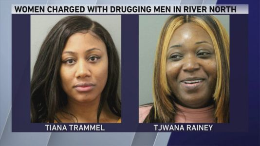 2 women charged with drugging men in Chicago's River North