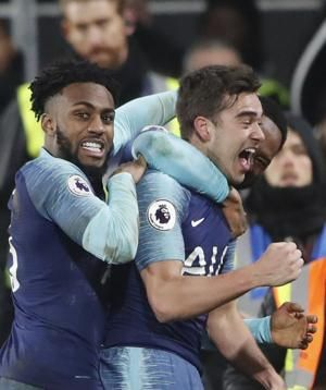 Tottenham beats Fulham 2-1 thanks to last-gasp winner