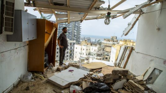 'Lots Of Destruction, But This Is The Future': Photos Inside The Homes Of Beirut