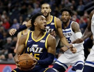 Bogdanovic scores 30 points, Jazz beat T-Wolves 103-95