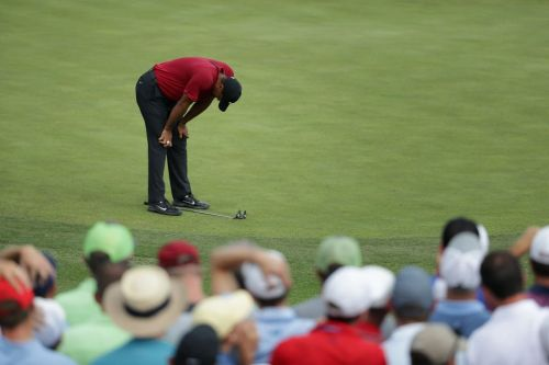 Tiger Woods lost his best chance to win the PGA Championship on the easiest hole by playing it safe and getting unlucky