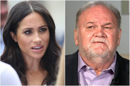 Meghan Markle's father didn't go to her first wedding
