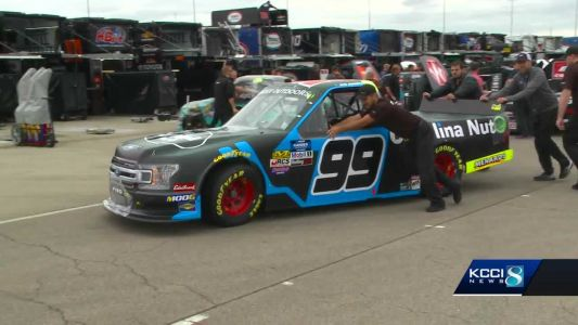 Nascar doubleheader at Iowa Speedway for Wide Opening Weekend