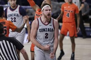 Timme scores 22, leads No. 1 Gonzaga over Pacific 95-49
