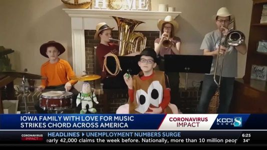 Iowa family strikes a musical chord across the country