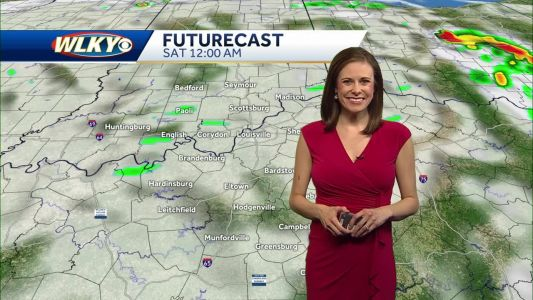 Mostly Cloudy, Isolated Shower On Saturday