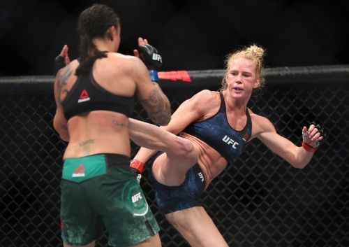 Former UFC champ Holly Holm first to be honored for 50 clean USADA tests