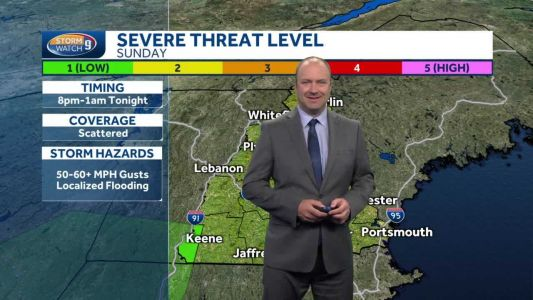 Video: Breaks of sun possible later today