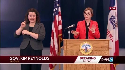 Gov. Reynolds holds news conference on COVID-19 in Iowa