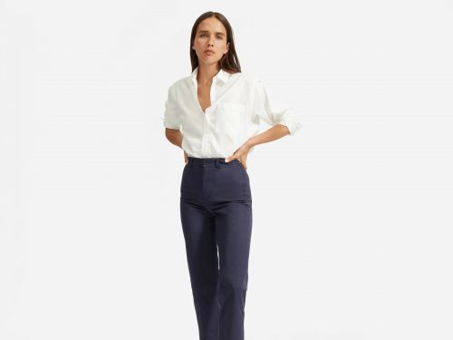 This $60 cotton shirt from Everlane is the perfect oversized button-up