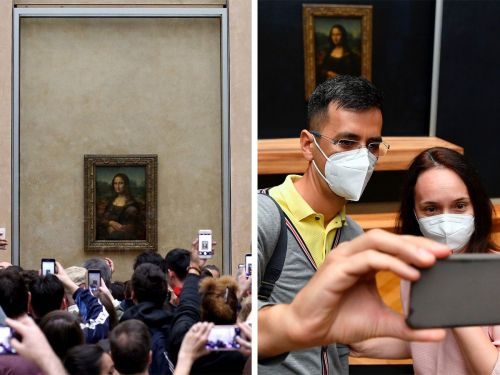 The Louvre just reopened for the first time in 4 months, and 2 striking photos show just how different it is to visit the famous Paris museum today